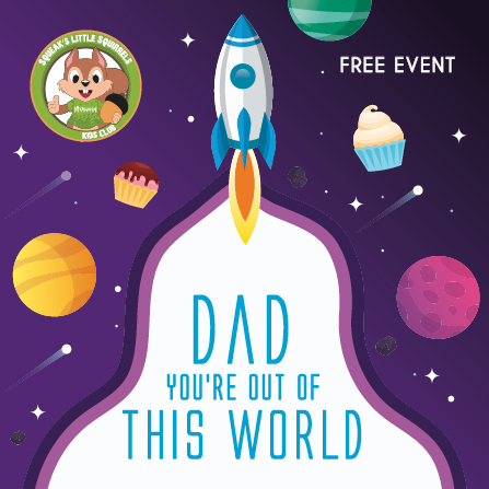 Dad You're Out of this World Workshop