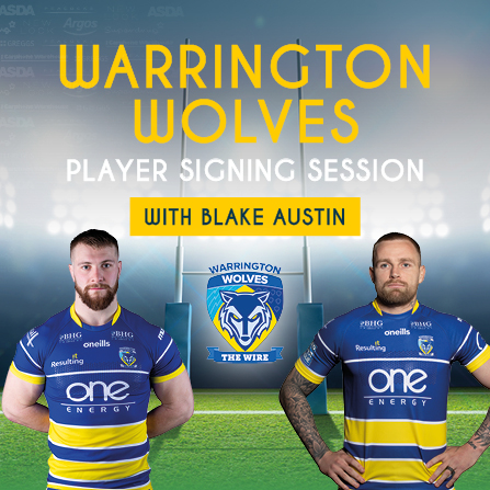 Warrington Wolves Player Signing Session