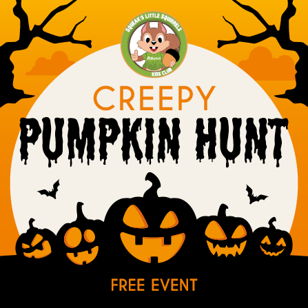 Creepy Pumpkin Hunt